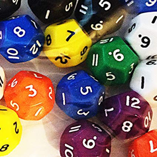 12 sided dice