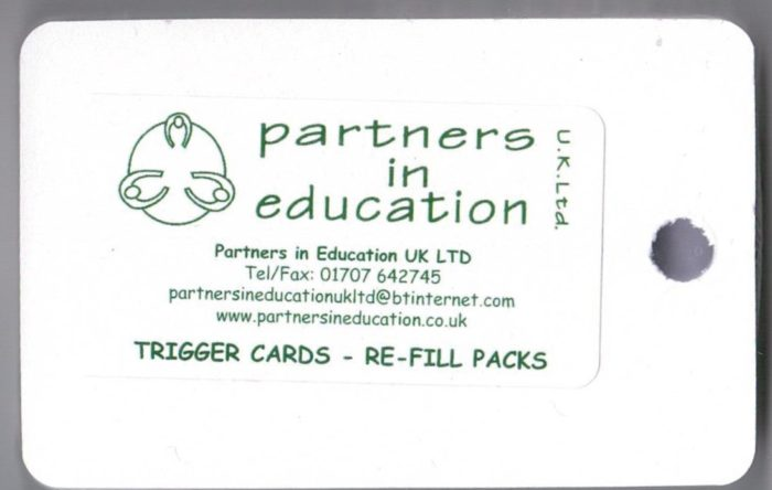 partners in education trigger cards