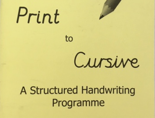 From Print To Cursive